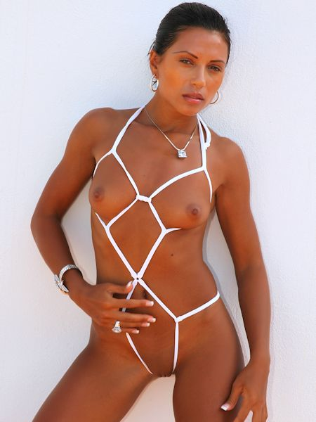 Micro bikini nudes